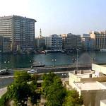 Dubai Creek from hotel room